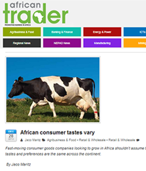 African consumer tastes vary