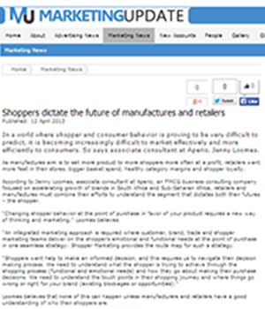 Shoppers dictate the future of manufactures and retailers